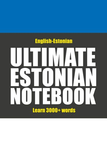 Ultimate Estonian Notebook