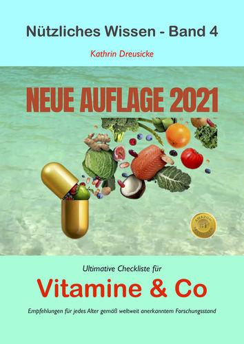 Ultimative Checkliste für Vitamine & Co