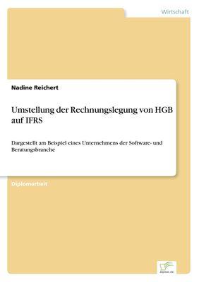 Umstellung der Rechnungslegung von HGB auf IFRS