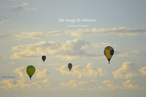 Un nuage de citations