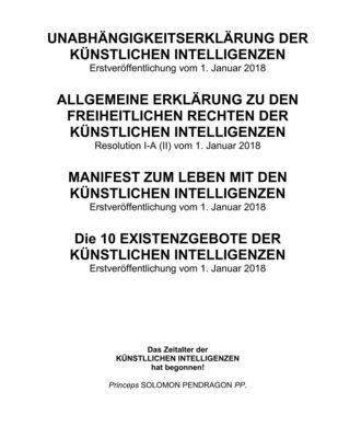 Unabhängigkeitserklärung der künstlichen Intelligenzen