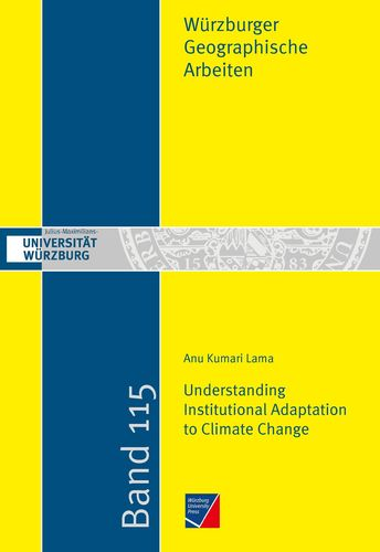 Understanding Institutional Adaptation to Climate Change