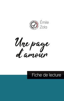 Une page d'amour de Émile Zola (fiche de lecture et analyse complète de l'oeuvre)