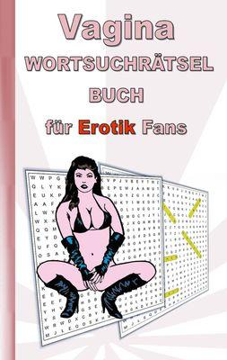 VAGINA Wortsuchrätsel Buch für EROTIK Fans