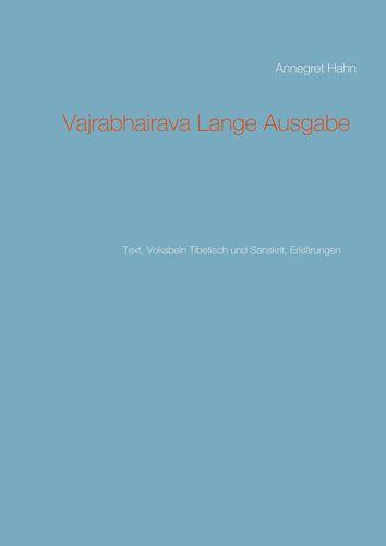 Vajrabhairava Lange Ausgabe