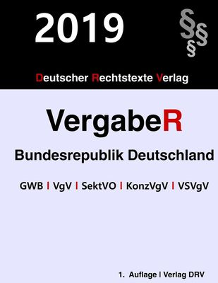 Vergaberecht Bundesrepublik Deutschland