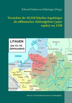 Verzeichnis der 10.210 Szlachta-Angehörigen des altlitauischen Adelsaufgebotes [popis wojska] von 1528