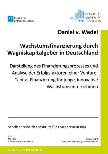 Wachstumsfinanzierung durch Wagniskapitalgeber in Deutschland