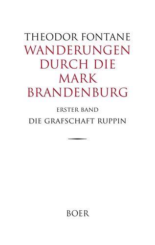 Wanderungen durch die Mark Brandenburg Band 1