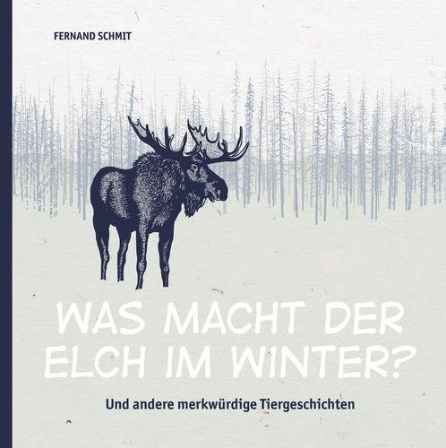 Was macht der Elch im Winter?
