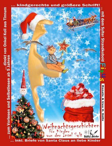 Weihnachtsgeschichten für Kinder von der Insel Sylt mit dem Sylter Strandkobold Fitus