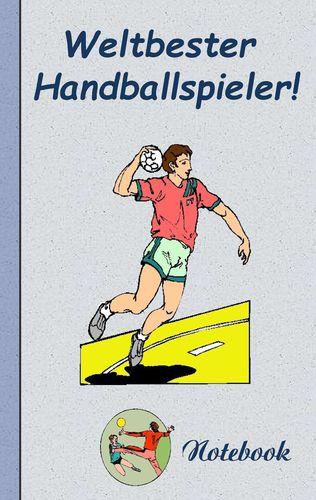 Weltbester Handballspieler - Notizbuch