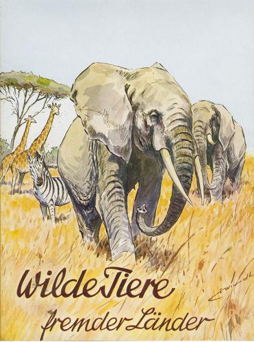 Wilde Tiere fremder Länder