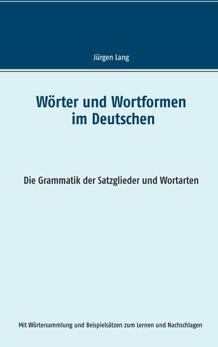Wörter und Wortformen im Deutschen