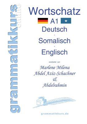 Wörterbuch A1 Deutsch - Somalisch - Englisch