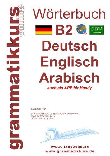 Wörterbuch B2 Deutsch - Englisch - Arabisch - Syrisch