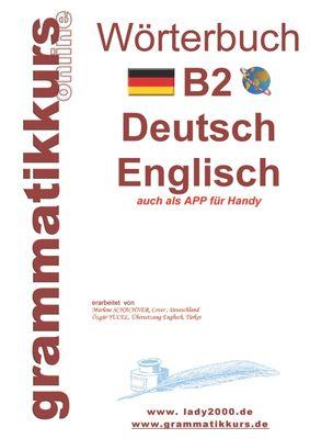 Wörterbuch B2 Deutsch - Englisch