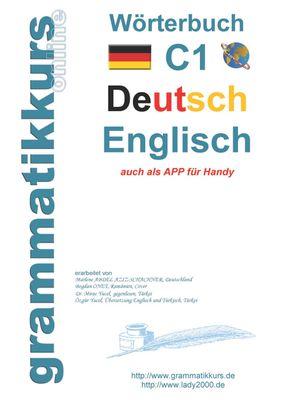 Wörterbuch C1 Deutsch - Englisch