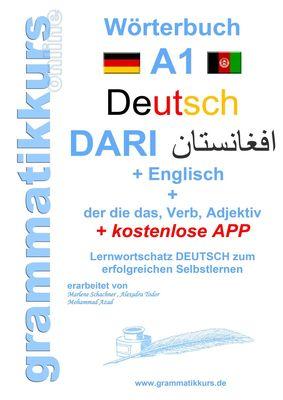Wörterbuch Deutsch - Dari - Englisch