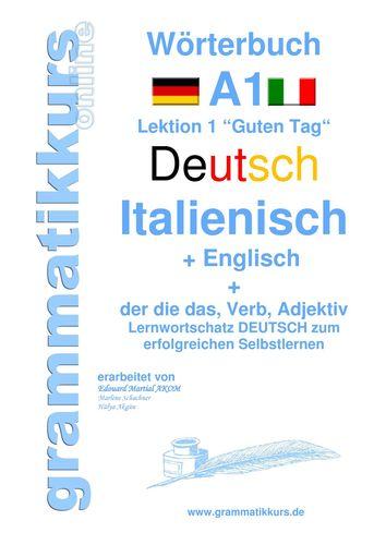 Wörterbuch Deutsch - Italienisch - Englisch  Niveau A1