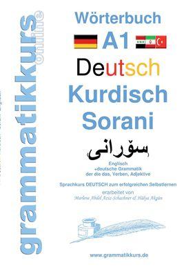 Wörterbuch Deutsch Kurdisch Sorani Niveau A1
