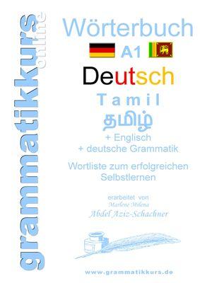 Wörterbuch Deutsch - Tamil Englisch A1