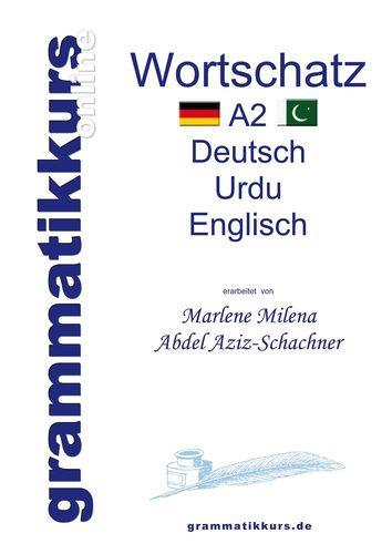 Wörterbuch Deutsch - Urdu- Englisch A2