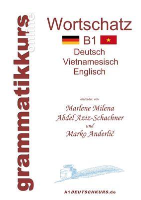 Wörterbuch Deutsch-Vietnamesisch-Englisch Niveau B1