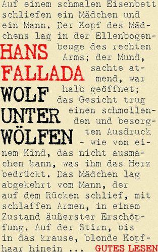 Wolf unter Wölfen