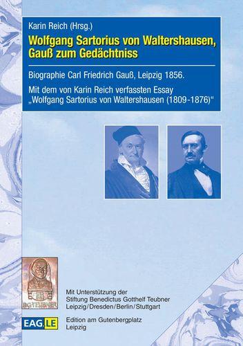 Wolfgang Sartorius von Waltershausen, Gauß zum Gedächtniss