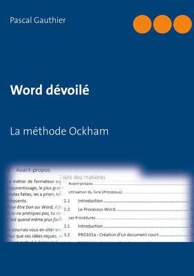 Word dévoilé