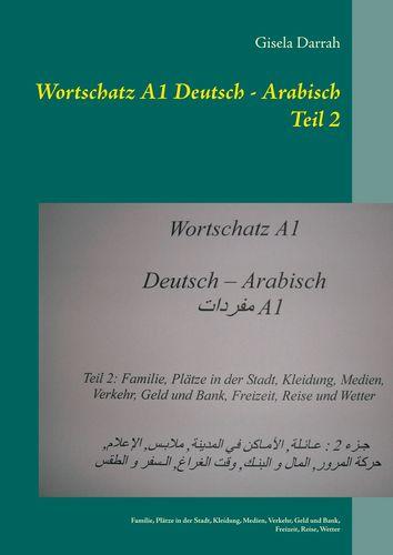 Wortschatz A1 Deutsch - Arabisch Teil 2