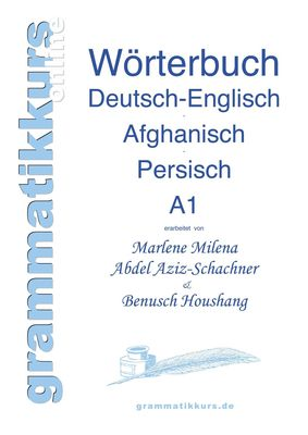Wortschatz Deutsch-Englisch-Afghanisch-Persisch Niveau A1