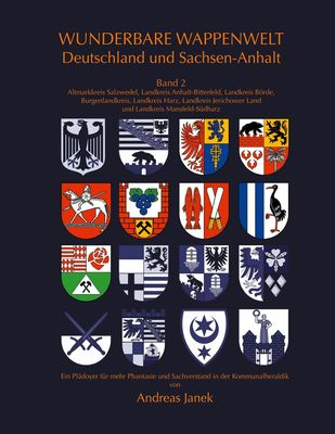 Wunderbare Wappenwelt Deutschland und Sachsen-Anhalt Band 2