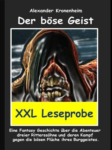 XXL LESEPROBE -  Der böse Geist