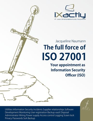 Your appointment as Information Security Officer (ISO)
