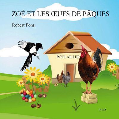 Zoé et les oeufs de Pâques