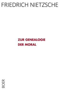 Zur Genealogie der Moral