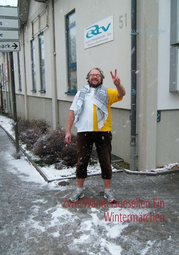 Zwei Wandersgesellen Ein Wintermärchen