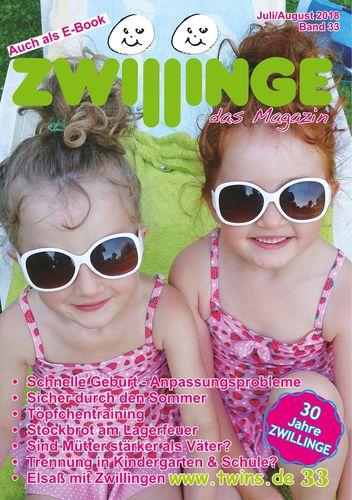 Zwillinge - das Magazin Juli/August 2018