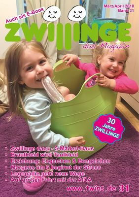 Zwillinge - das Magazin März/April 2018