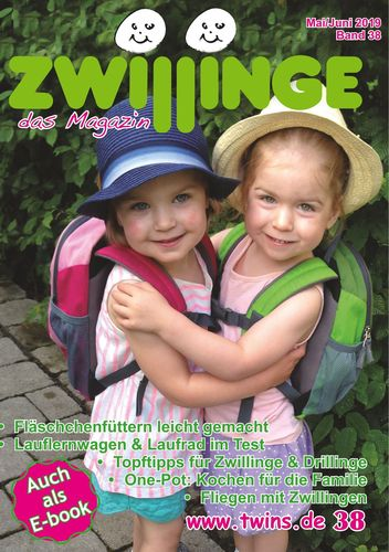 Zwillinge - das Magazin Mai/Juni 2019