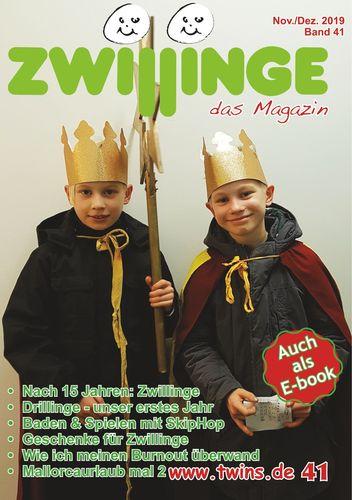 Zwillinge - das Magazin Nov./Dez. 2019