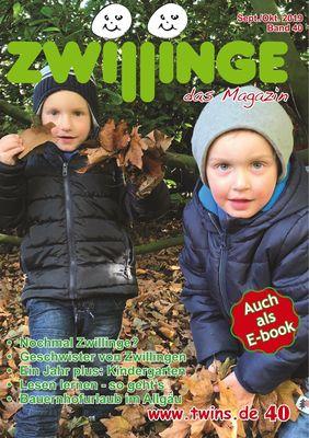 Zwillinge - das Magazin Sept./Okt. 2019