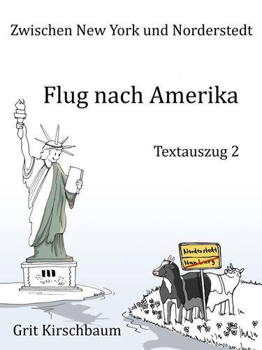 Zwischen New York und Norderstedt - Flug nach Amerika